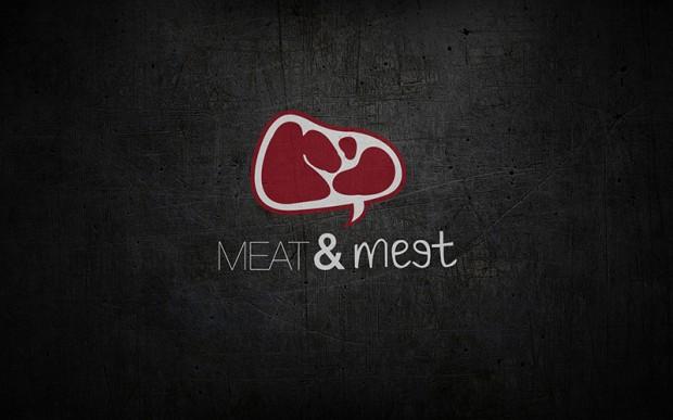 """Meat & Meet"" Steakhouse: Logo design & Identity (Shanghai ..."